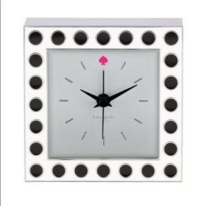 Kate Spade Lenox Polka Dot Clock